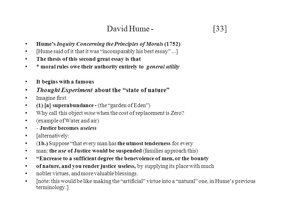 david hume david hume is widely regarded as the greatest  33 david